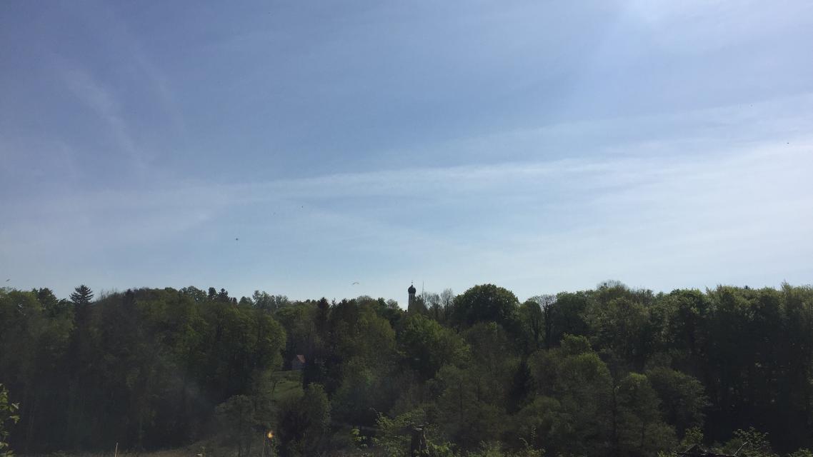 Blick auf Kirche St. Michael in Widdersberg