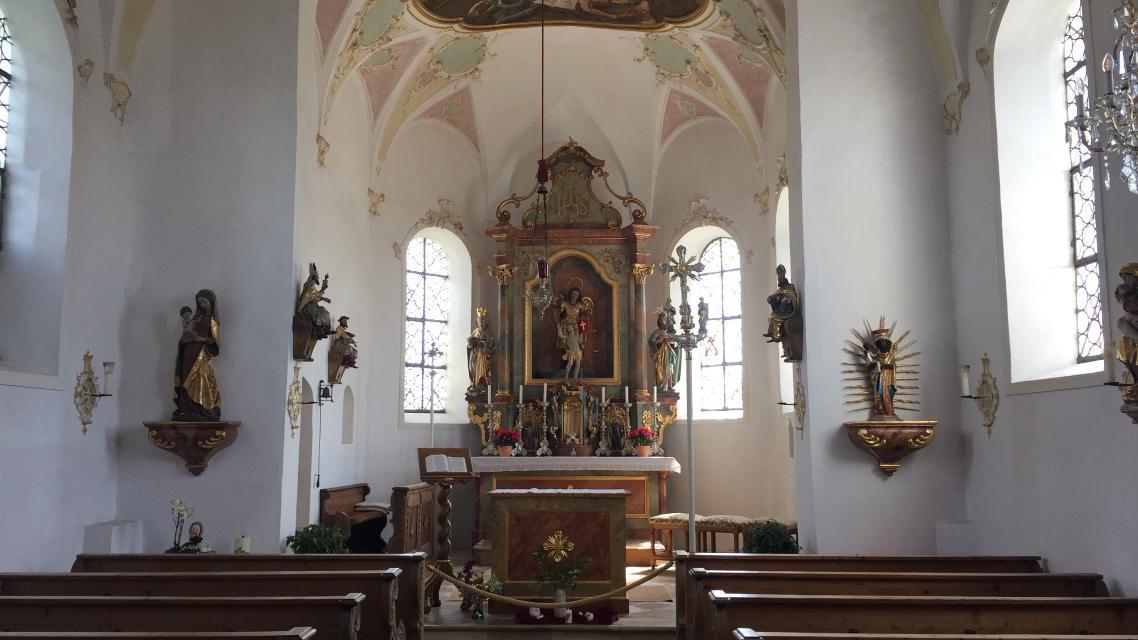 Innenansicht Kirche St. Michael