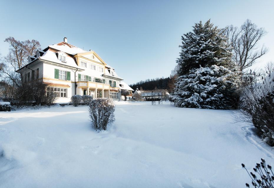 Winterliche Atmosphäre im Schlossgut Oberambach